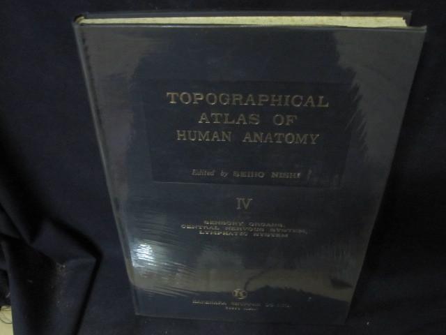 TOPOGRAPHICAL ATLAS OF HUMAN ANATOMY Ⅳ箱無シミ押印有/BFZL