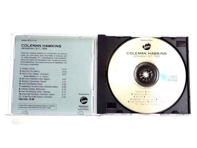 輸入盤 CD【UPCD27.45】Coleman Hawkins コールマン・ホーキンス / Jamestown N.Y. 1958 / 送料310円~_画像3
