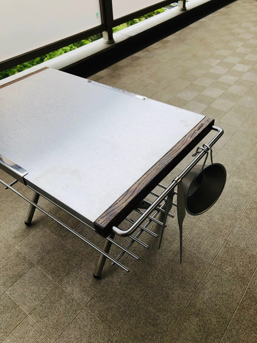 【新品未使用】ユニフレーム 焚き火テーブル カスタムパーツ2点セット!