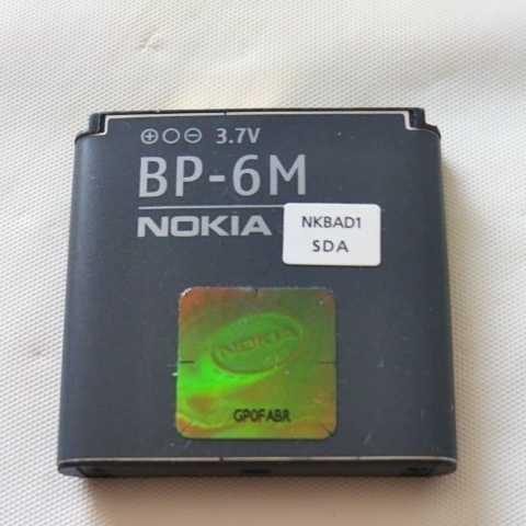 NOKIA 電池パック BP-6M 通電&充電簡易確認済み 送料無料