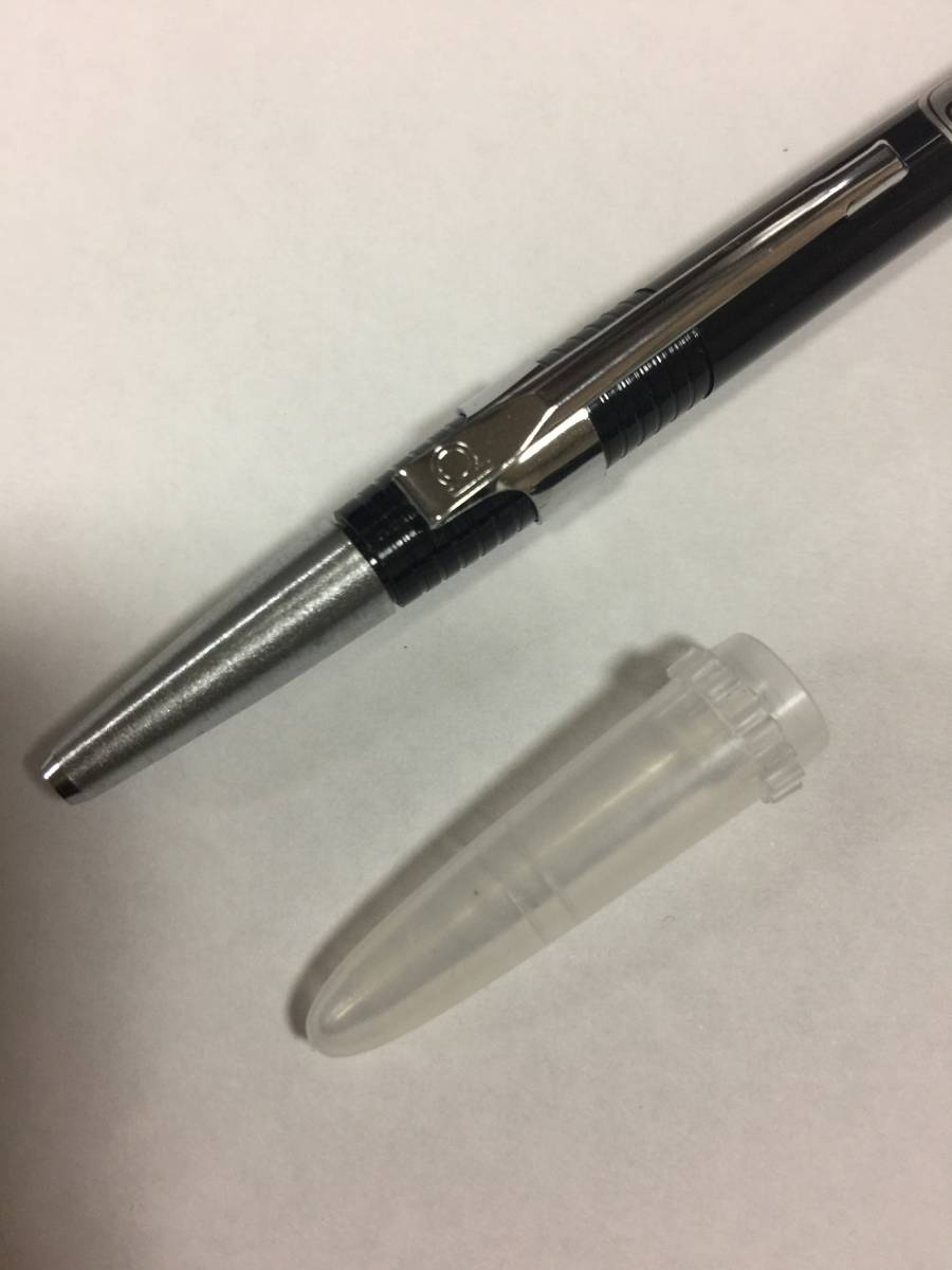 ☆ 古いボールペン ( 振り子式 ? 廃盤 ? 未使用 ) 黒 _画像4