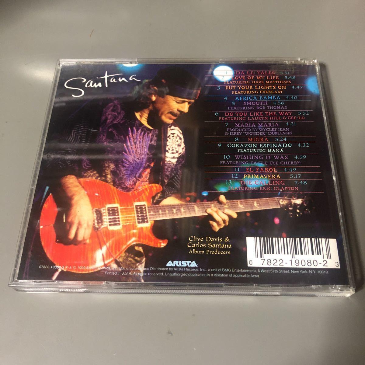 サンタナ スーパーナチュラル USA盤CD①