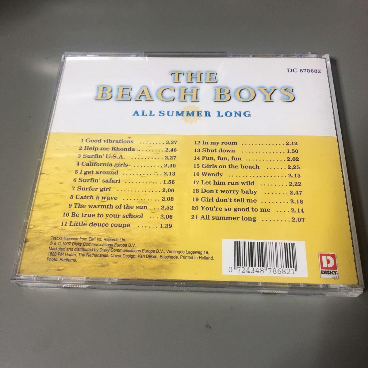 ビーチ・ボーイズ ALL SUMMER LONG EU盤CD