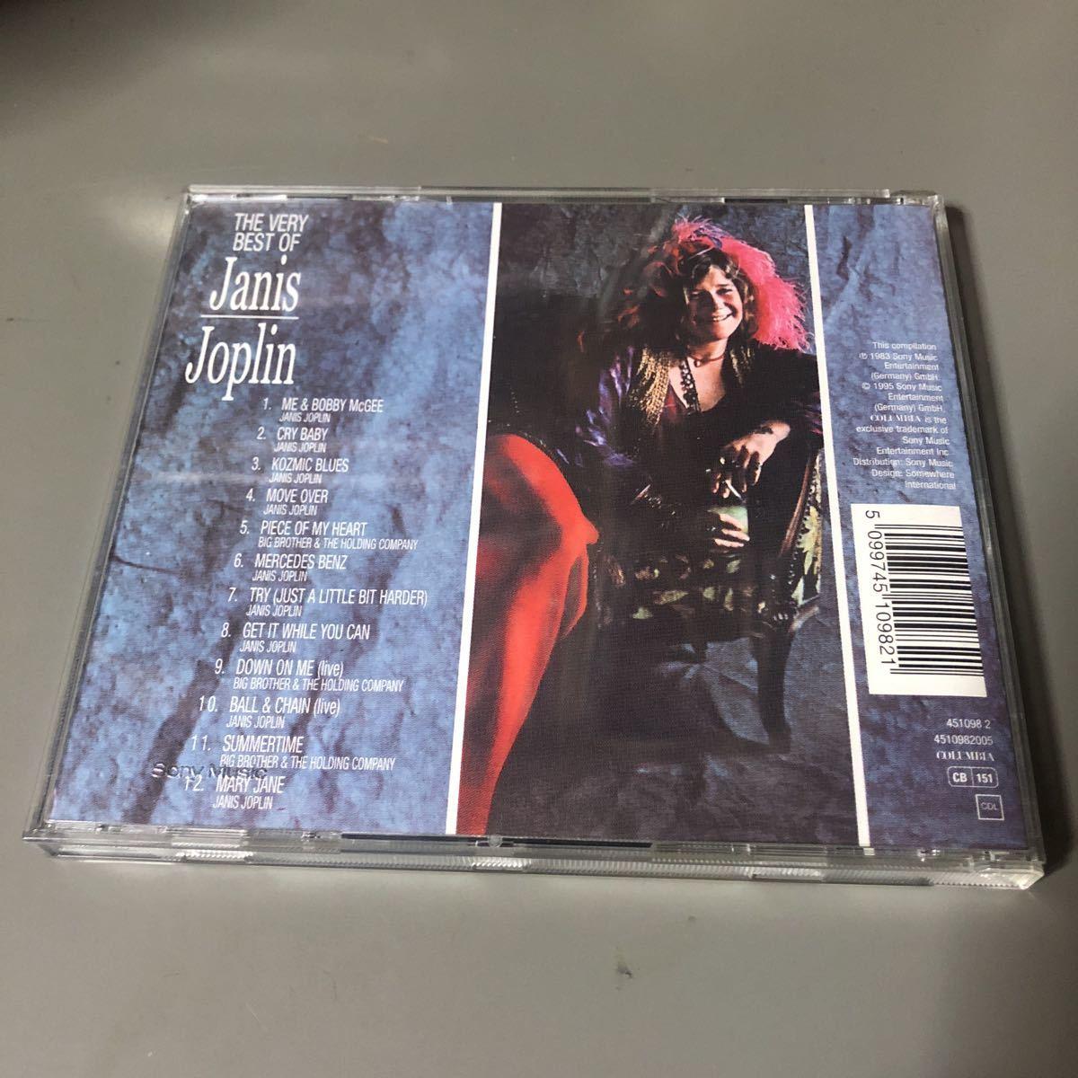 ジャニス・ジョプリン Janis Joplin The Very Best Of EU盤CD
