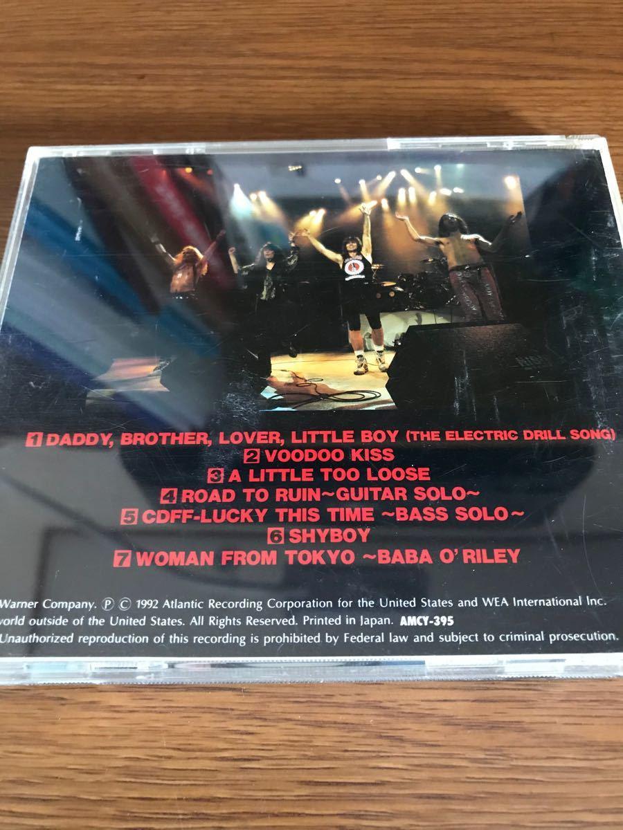 ヘビーメタルライブCD 3枚セット MR.BIG他