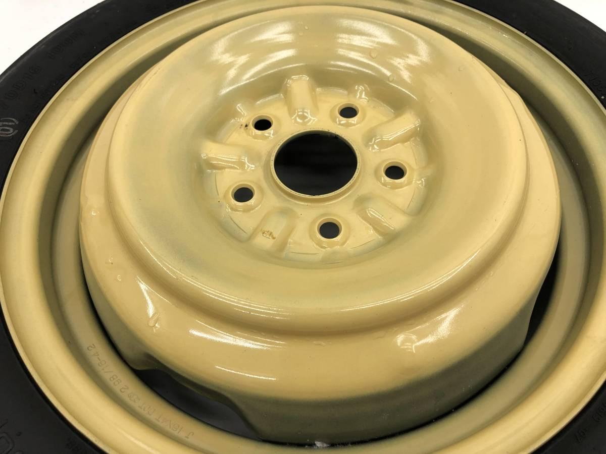 _b40573 トヨタ マークII 2 グランデ レガリア E-JZX100 テンパータイヤ スペア 応急 T135/70D16 16×4T チェイサー クレスタ GX100_画像3