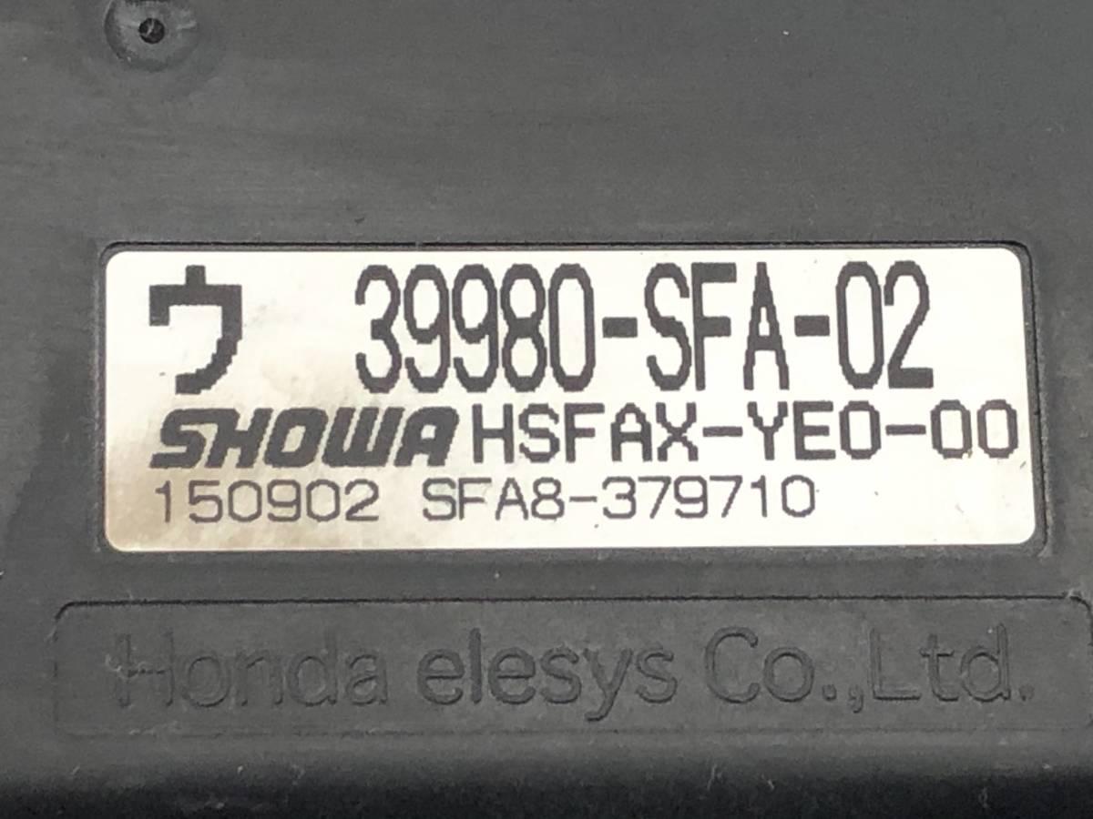 _b43746 ホンダ ライフ C CBA-JB5 パワステコンピューター パワーステアリング 39980-SFA-02 JB6 JB7 JB8_画像4