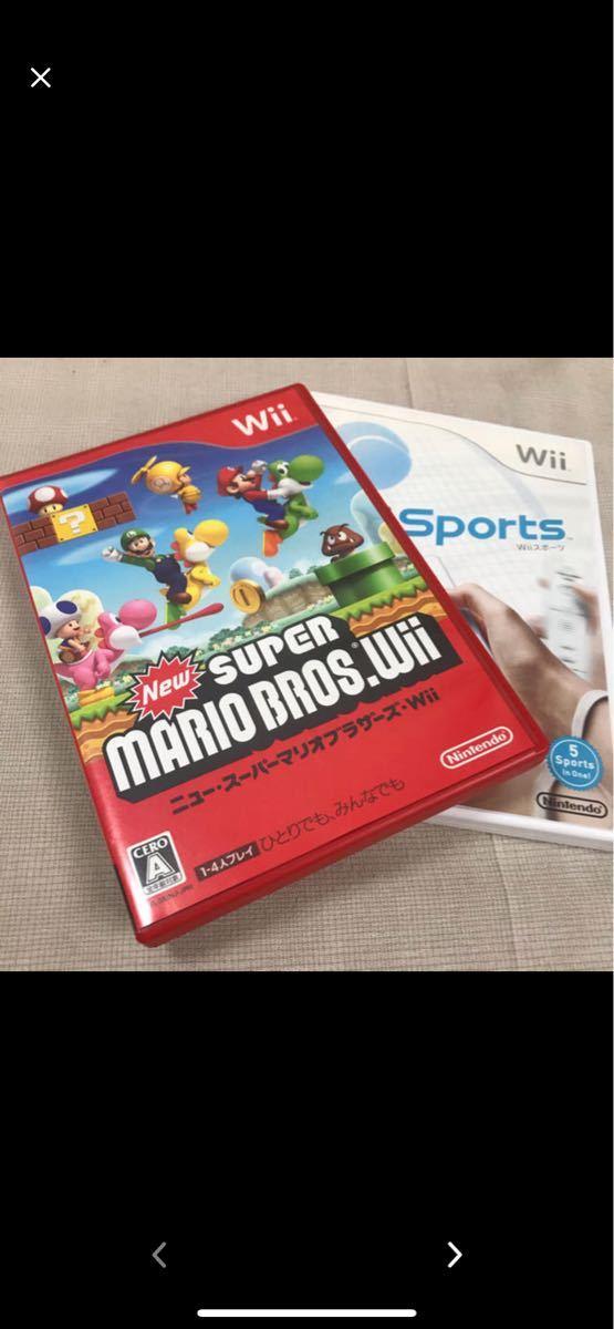 Wiiソフト『ニュースーパーマリオブラザーズ  Wii』『Wii Sports』
