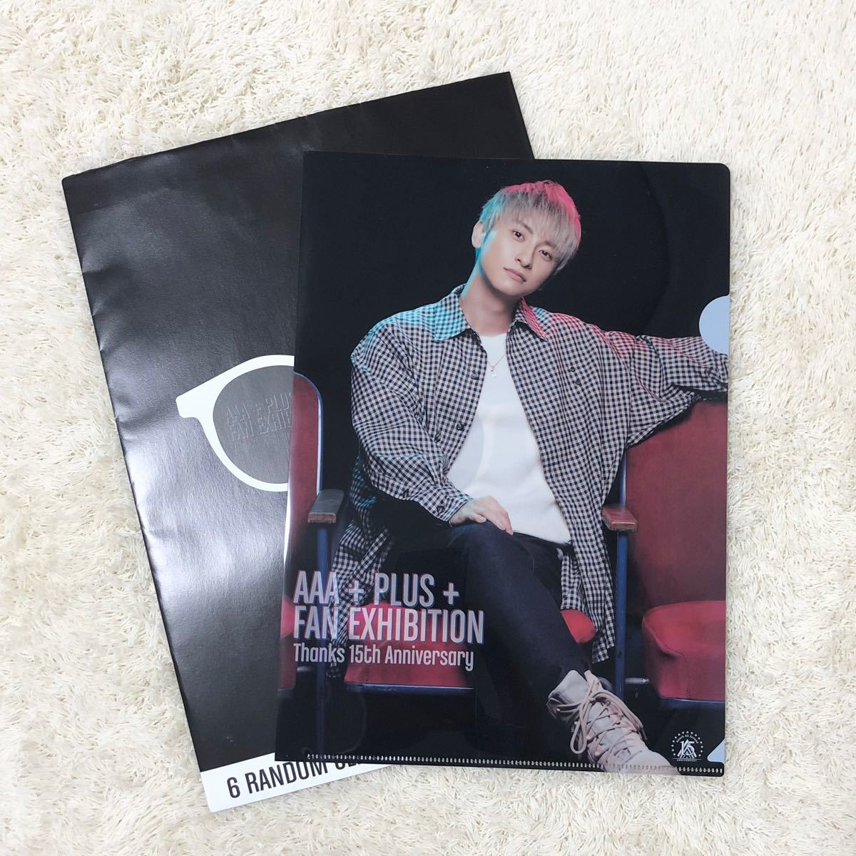 AAA exhibition 與真司郎 クリアファイル