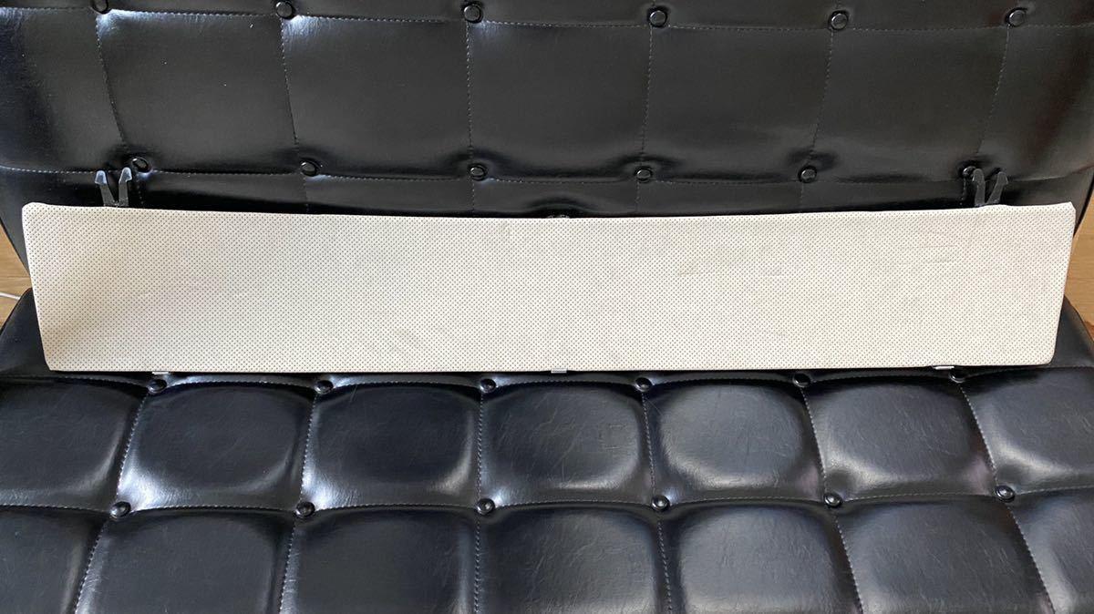 送料無料  希少 BMW リアゲート アルカンターラ パンチング グレー 内側パネル 前期 E91_画像2
