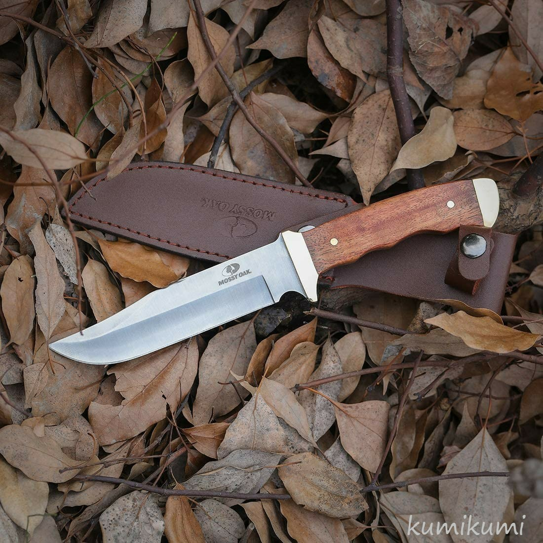 MOSSY OAK シースナイフ サバイバルナイフ 全長275mm アウトドア