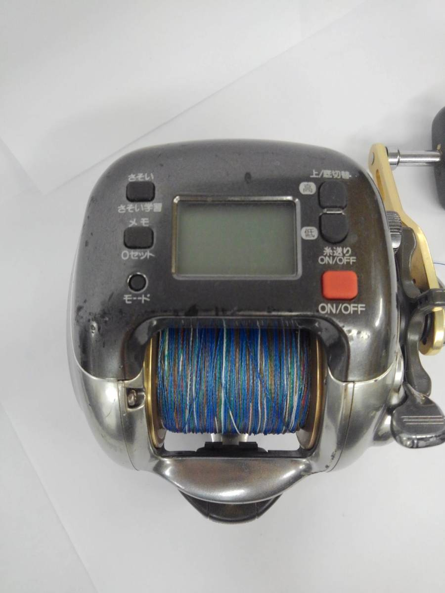 G041-I4-9313 SHIMANO シマノ 電動丸 3000XH 電動リール 釣り具 箱付き ⑰_画像2