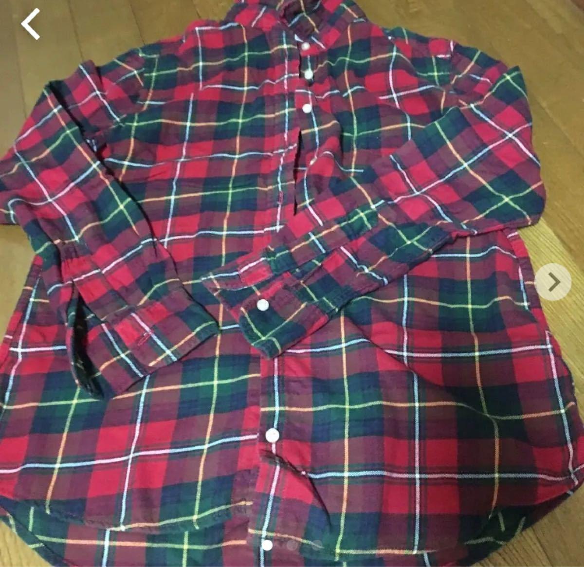 チェックシャツ 長袖シャツ ネルシャツ チェック柄