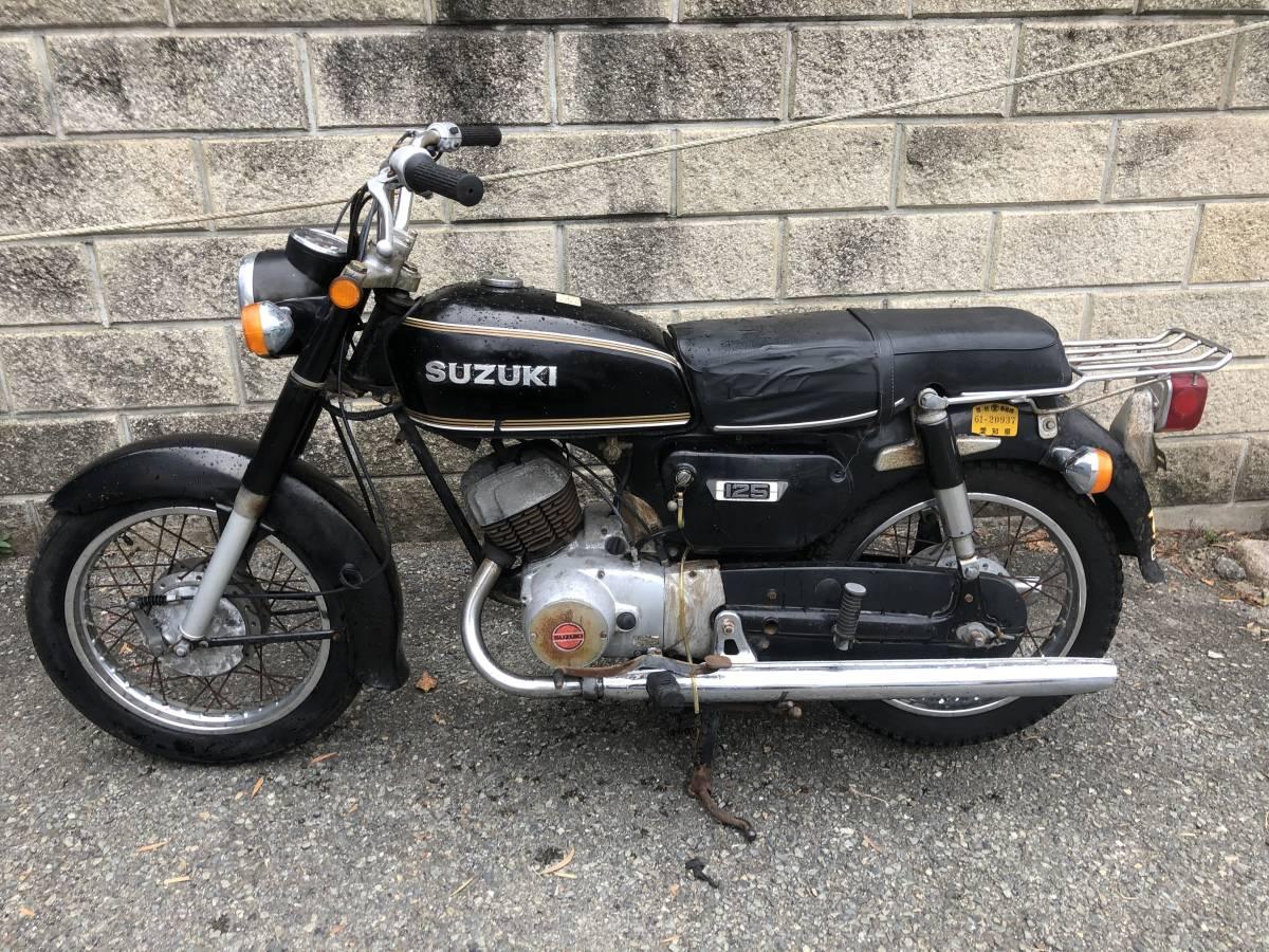 当時のビジネスバイクはいかが? スズキ K125 12V レストアベース車_画像5