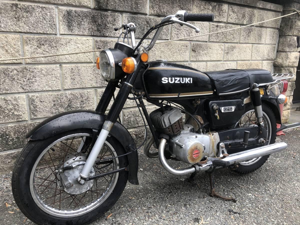 当時のビジネスバイクはいかが? スズキ K125 12V レストアベース車_画像4