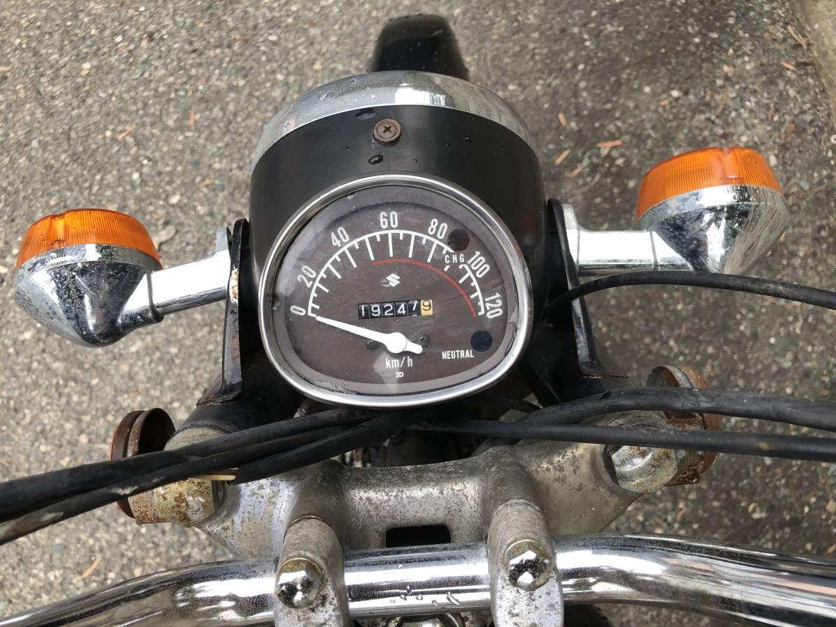 当時のビジネスバイクはいかが? スズキ K125 12V レストアベース車_画像8