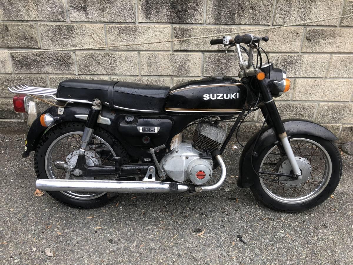 当時のビジネスバイクはいかが? スズキ K125 12V レストアベース車_画像2