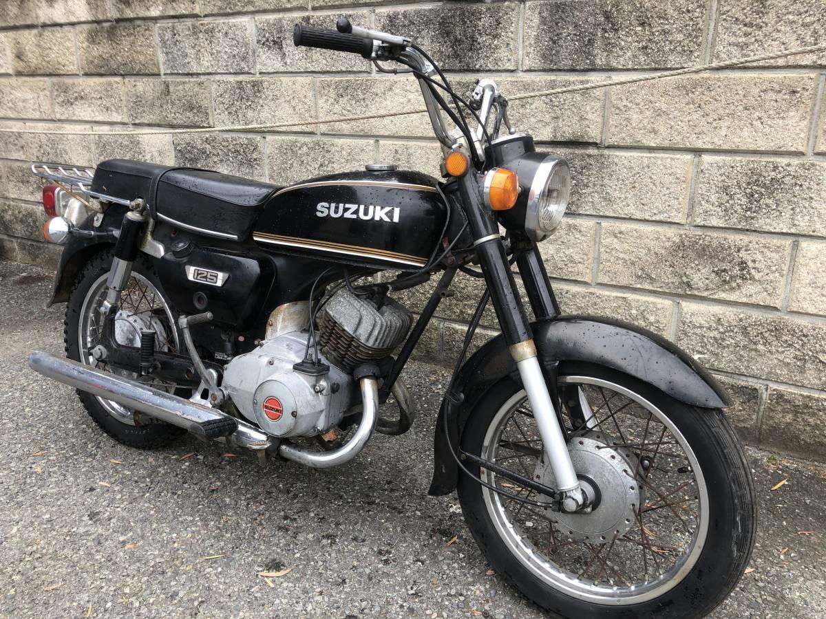 当時のビジネスバイクはいかが? スズキ K125 12V レストアベース車