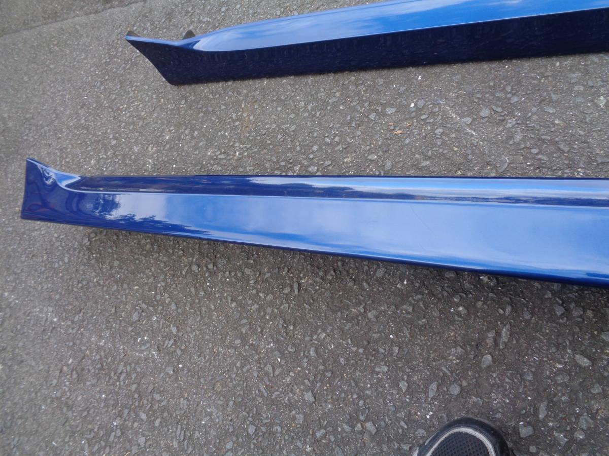 H18年 トヨタ 20系 bB QNC20 QNC21 QNC25 純正 サイドステップ 左右 青?B42 管B1010-2_画像3