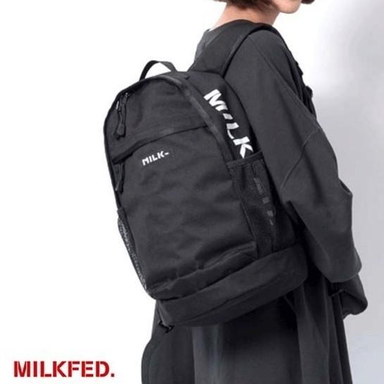 ミルクフェド サイドロゴ バックパック