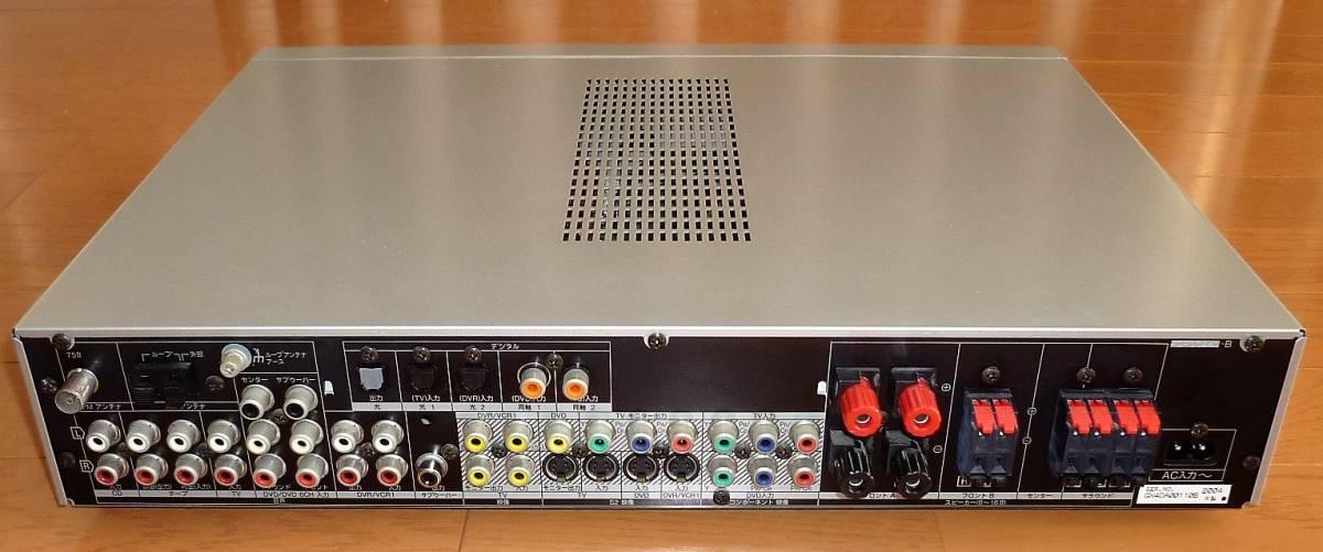 パナソニック ホームシアター6.1chシステム デジタルAVコントロールアンプ SA-XR50+スピーカーシステム SB-TP30 動作確認品_背面端子群