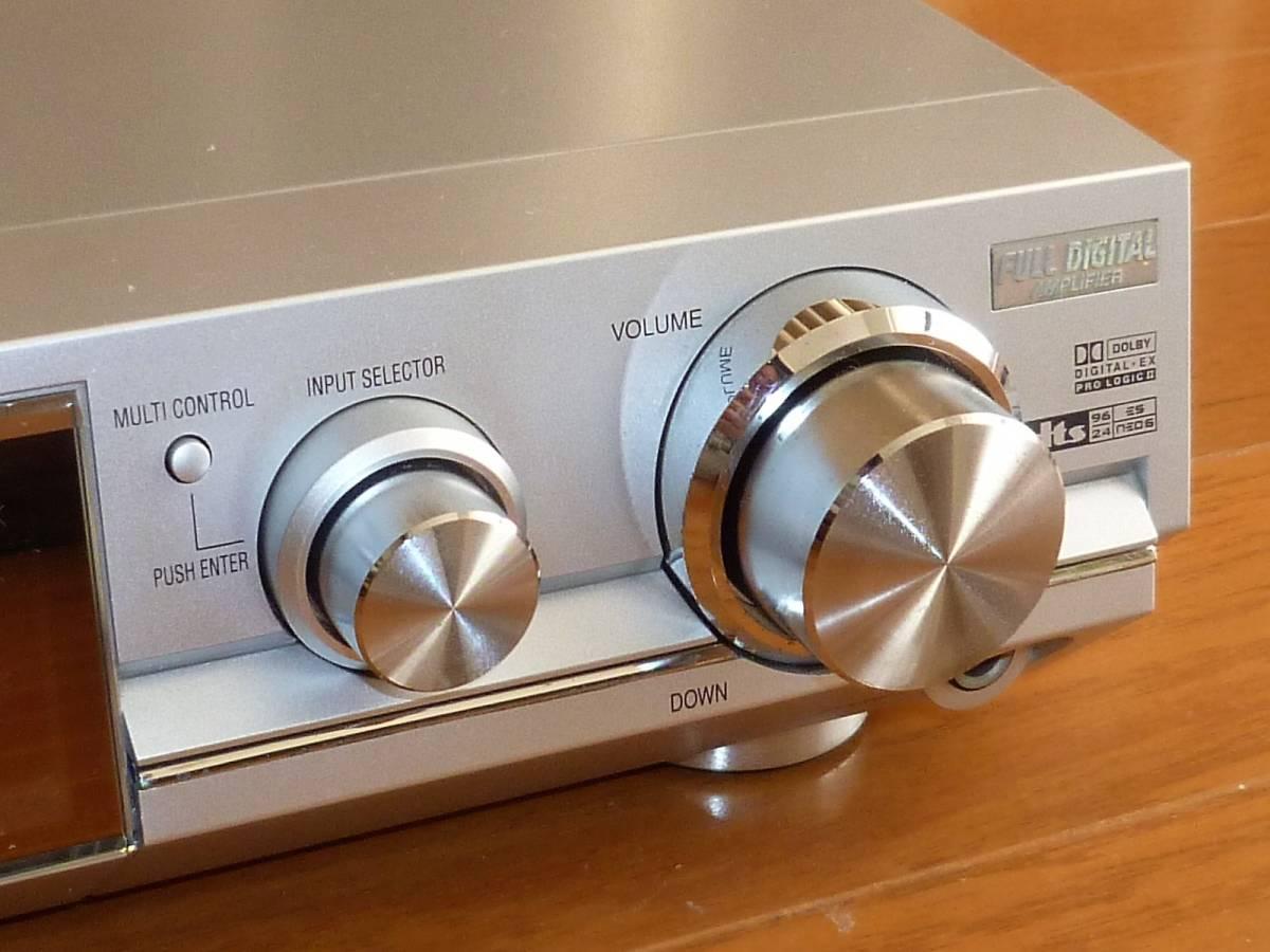 パナソニック ホームシアター6.1chシステム デジタルAVコントロールアンプ SA-XR50+スピーカーシステム SB-TP30 動作確認品_右前面操作パネル