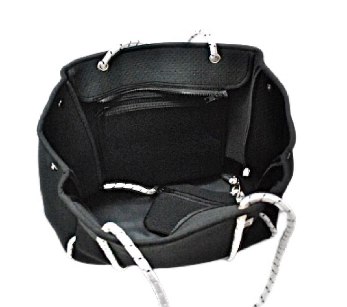 ショルダーバッグ トートバッグ 大容量 ブラック