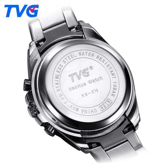 メンズ多機能クォーツ腕時計 防水デジタルスポーツウォッチ_画像6