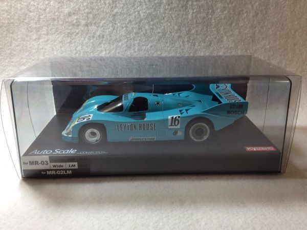 京商 ミニッツ ボディ 絶版 ポルシェ 962 C KH LEYTON HOUSE No16 JSPC 1987 Porsche mini-z オートスケール MR03 ASC Auto Scale