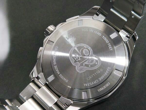 TAG Heuer AQUARACER タグ ホイヤー アクアレーサー クォーツ クロノグラフ CAY1110.BA0927 メンズ腕時計 SS ブラック文字盤 店舗受取可_画像8