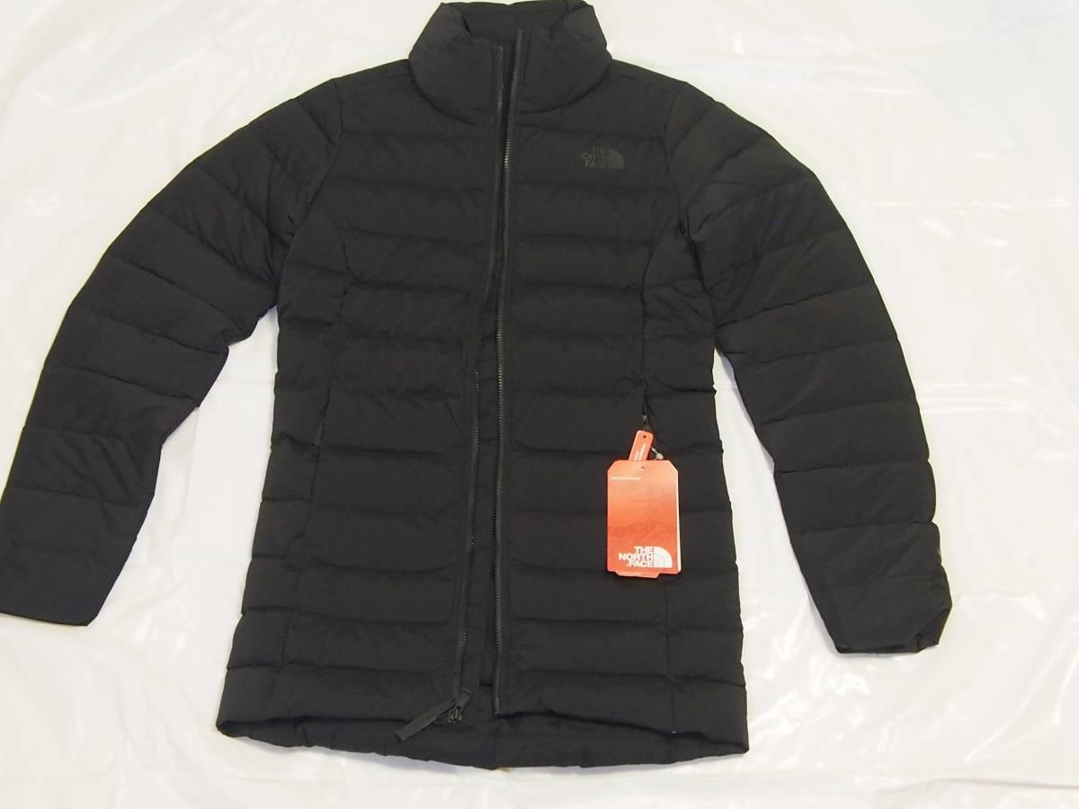 【USA購入、新品未使用】ノースフェイス レディース ダウンジャケット XS ブラック Stretch Down Parka_画像5
