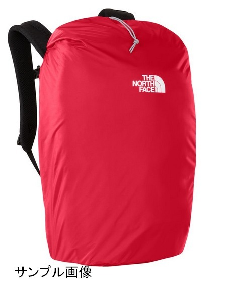 【USA購入、新品未使用】ノースフェイス バックパックレインカバー レッド S The North face Backpack Rain Cover Tnf Red_画像5
