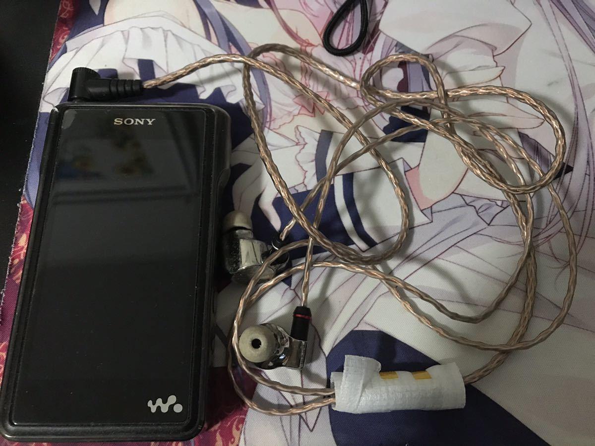 ソニーイヤホンセット IER-Z1R NW-WM1A バランスケーブル_画像2