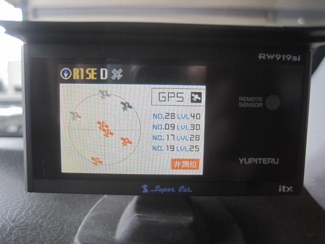 難有 通電のみOK 社外◆ユピテル スーパーキャット YUPITERU SuperCat GPSレーダー探知機 RW919Si ※SDカード欠品◆Ξ6057P E-16A_画像6