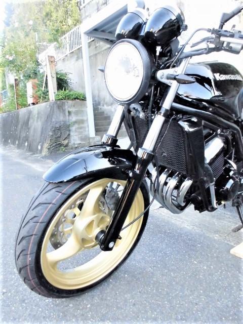 「☆ カワサキ バリオスⅡ ☆ ZR250B ブラックウレタンペイントカスタム! ( ジェイド ホーネット CBX 250 ネイキッド )」の画像2