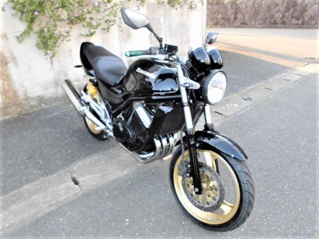 「☆ カワサキ バリオスⅡ ☆ ZR250B ブラックウレタンペイントカスタム! ( ジェイド ホーネット CBX 250 ネイキッド )」の画像1