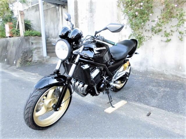 「☆ カワサキ バリオスⅡ ☆ ZR250B ブラックウレタンペイントカスタム! ( ジェイド ホーネット CBX 250 ネイキッド )」の画像3