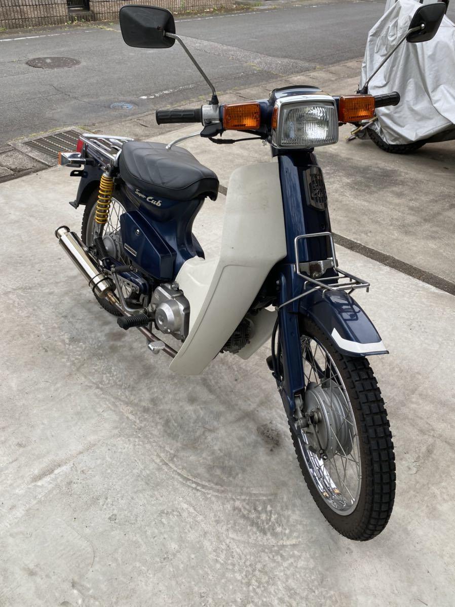 「カブ90 カスタム 高年式2005年 低走行5980キロ」の画像3