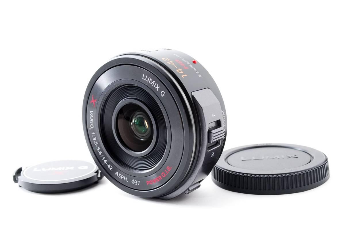 パナソニック Panasonic 14-42mm f/3.5-5.6 LUMIX G X VARIO マイクロフォーサーズ ズーム 標準 レンズ [美品] #681233_画像1