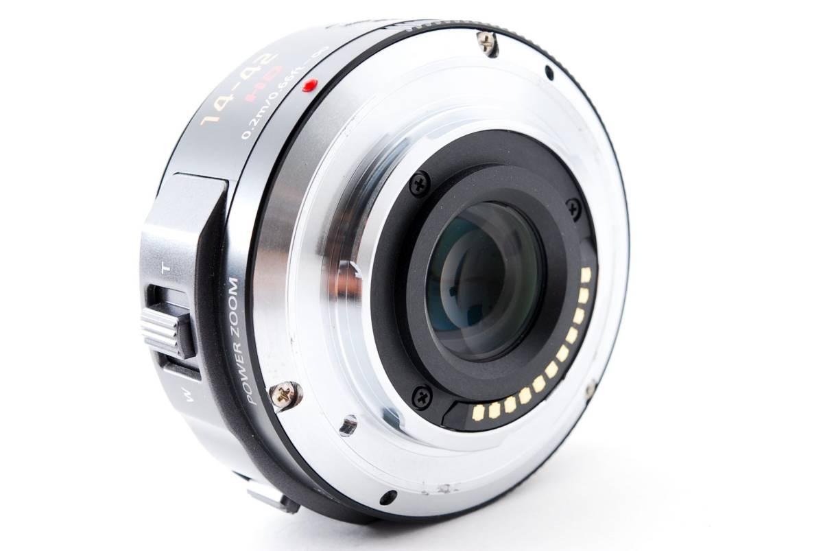 パナソニック Panasonic 14-42mm f/3.5-5.6 LUMIX G X VARIO マイクロフォーサーズ ズーム 標準 レンズ [美品] #681233_画像7