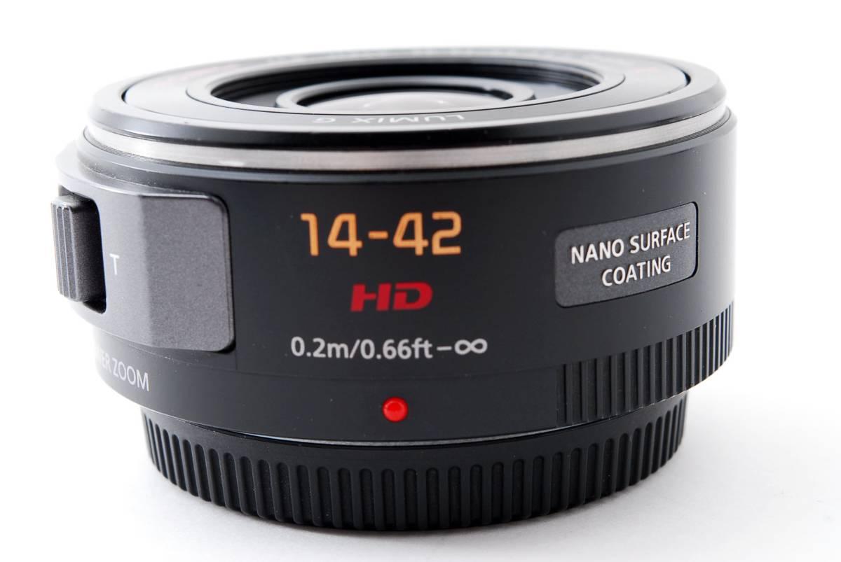 パナソニック Panasonic 14-42mm f/3.5-5.6 LUMIX G X VARIO マイクロフォーサーズ ズーム 標準 レンズ [美品] #681233_画像9