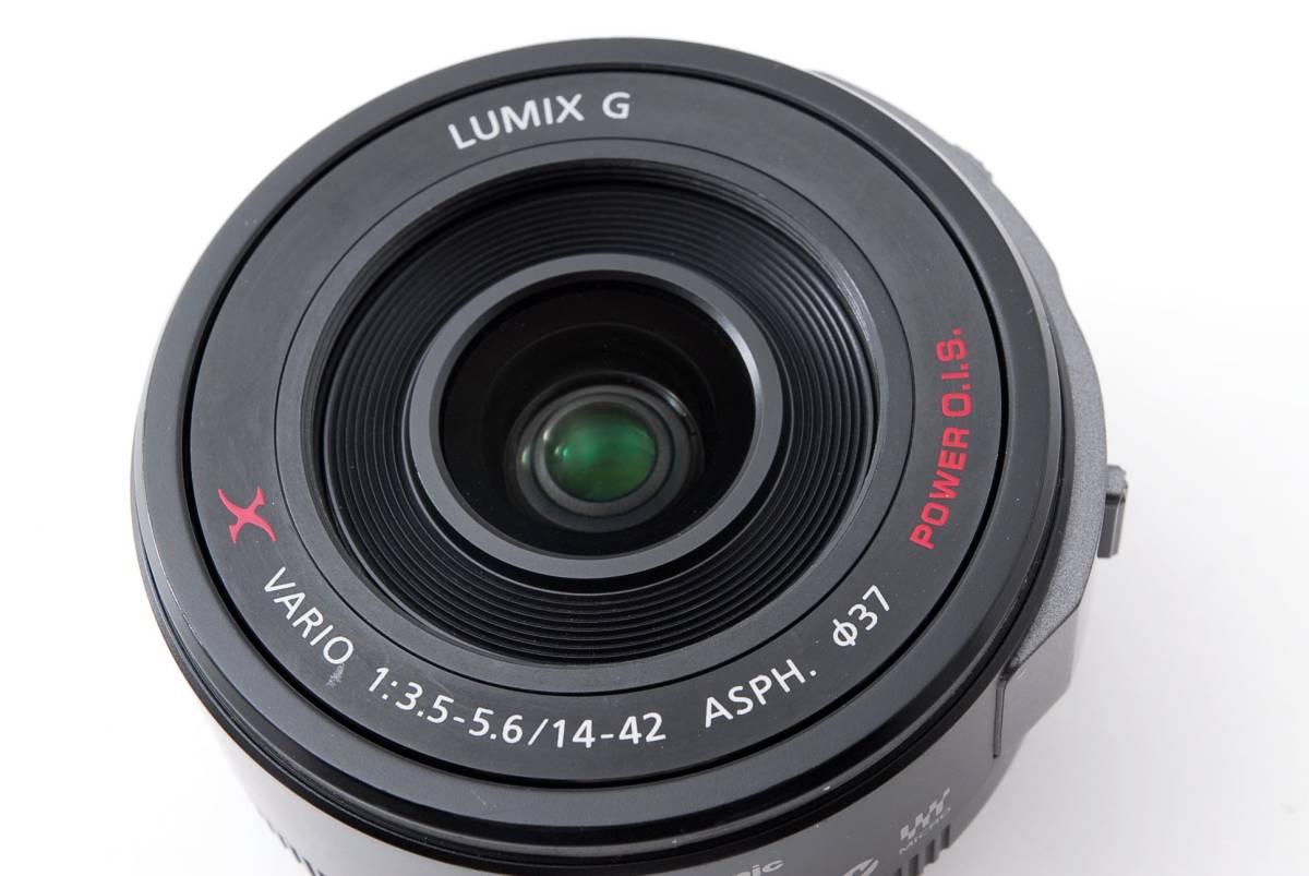 パナソニック Panasonic 14-42mm f/3.5-5.6 LUMIX G X VARIO マイクロフォーサーズ ズーム 標準 レンズ [美品] #681233_画像10