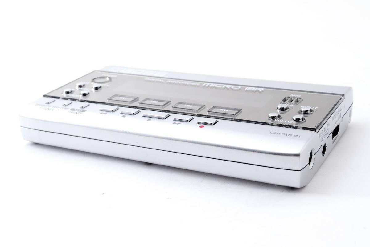ボス BOSS MICRO BR ポータブル マルチトラック デジタル レコーダー DIGITAL RECORDER 箱、取扱説明書付き [美品] #681235_画像2