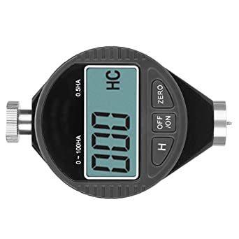 デジタル硬度計 ゴムタイヤ硬度計 A型 ゴム/ガラス/プラスチック/革の硬さを測定 ラバータイヤデュロメーター硬度テスターメータ_画像6