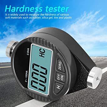 デジタル硬度計 ゴムタイヤ硬度計 A型 ゴム/ガラス/プラスチック/革の硬さを測定 ラバータイヤデュロメーター硬度テスターメータ_画像3