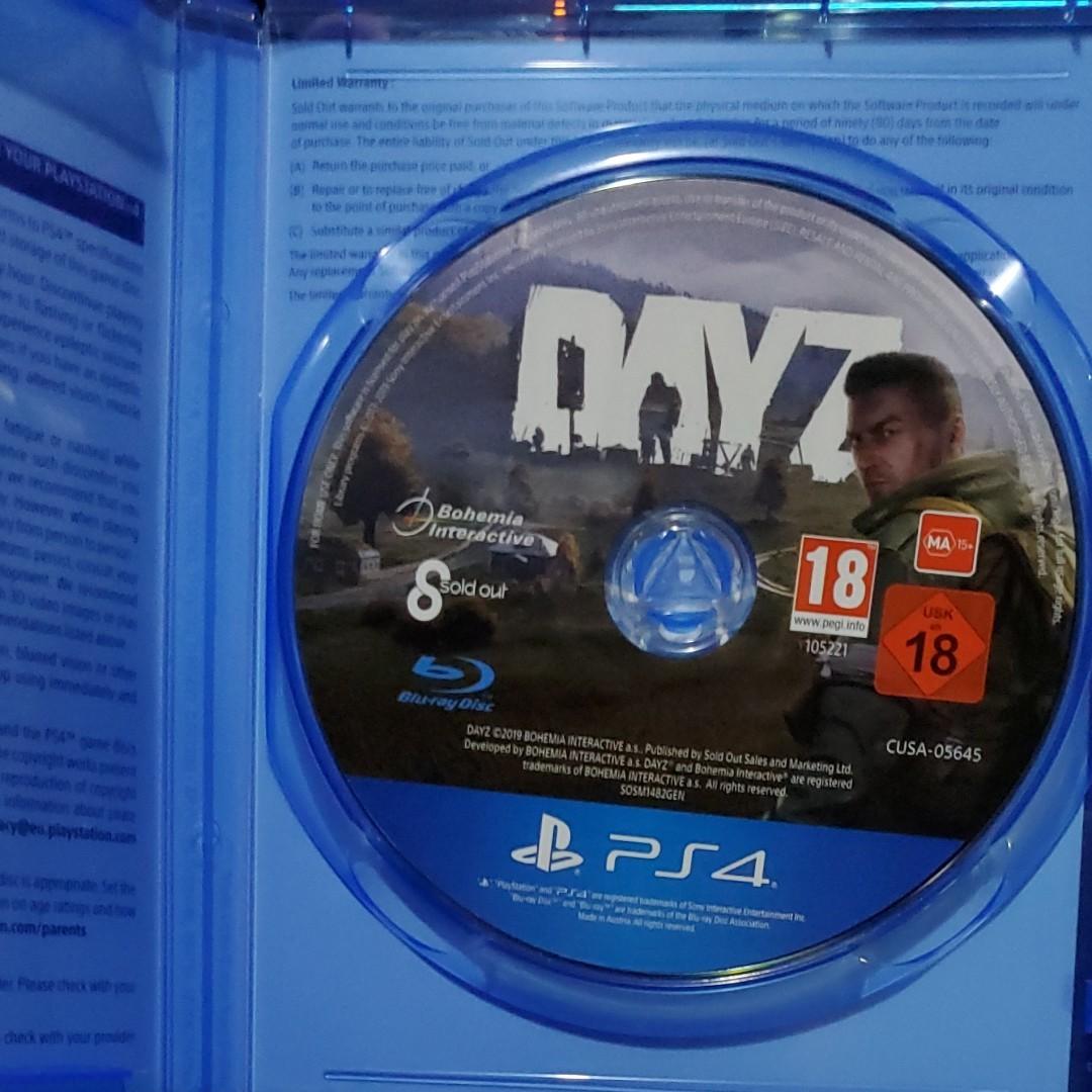 PS4ソフト DAYZ