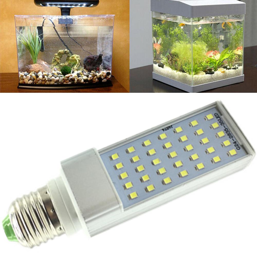 C2372:アクアリウム 7W E27電球 LED 成長 ランプ 110/220V 水族館 サンゴ 植物 成長 フィッシュポッド 魚 タンクライト 水槽 水族館_画像4