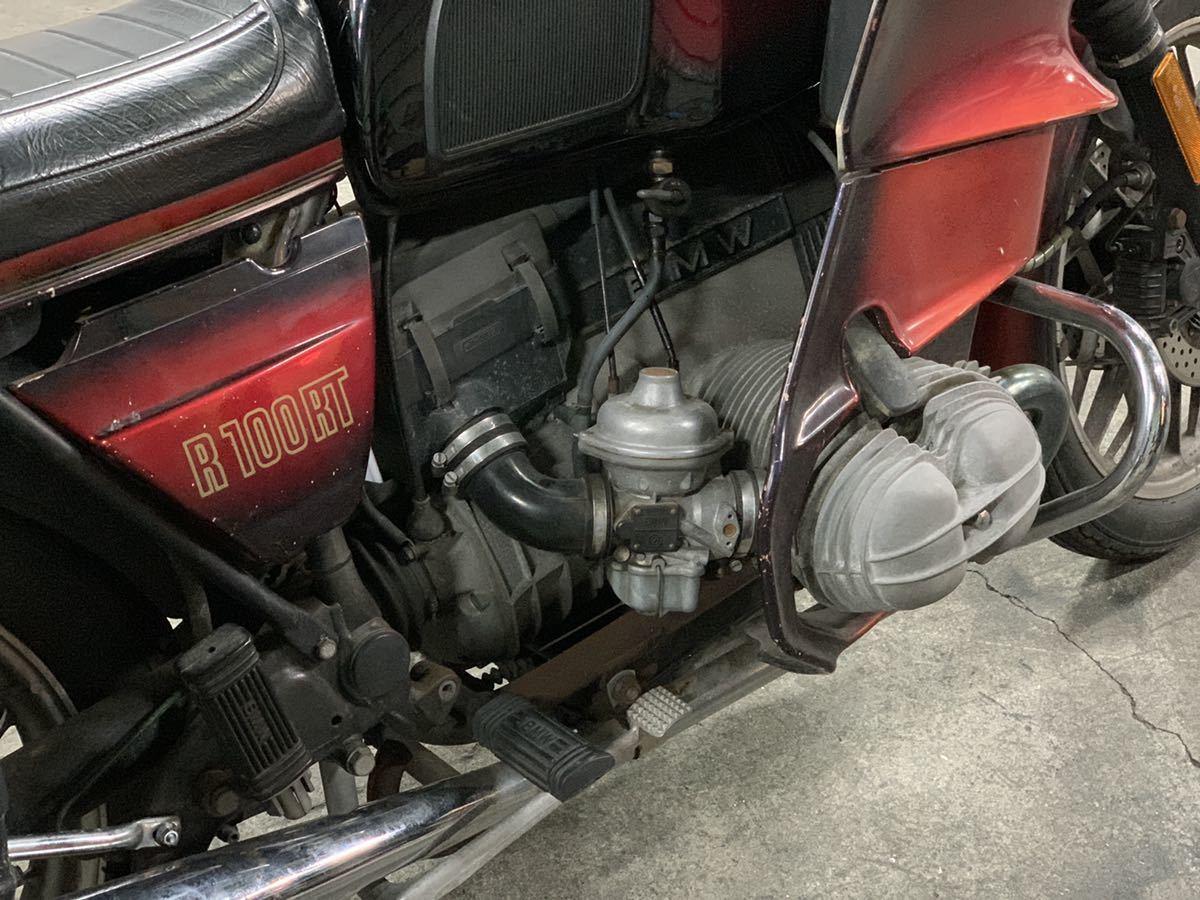 「昭和59年式 BMW R100RT ツアラーモデル ナビ ETC付きフロントブレーキオーバーホール バッテリー新品交換済み」の画像2