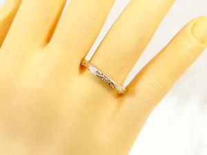 ペアリング 安い ハワイアンジュエリー 結婚指輪 ゴールド 18k イエローゴールドk18 マリッジリング シンプル 人気 プレゼント 女性 男性_画像4