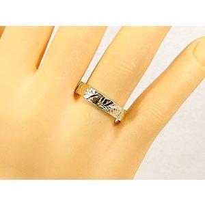 ペアリング 安い ハワイアンジュエリー 結婚指輪 ゴールド 18k イエローゴールドk18 マリッジリング シンプル 人気 プレゼント 女性 男性_画像5
